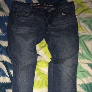 Skinny jeans , $6